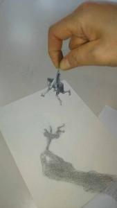 3Dアート習作(小人)