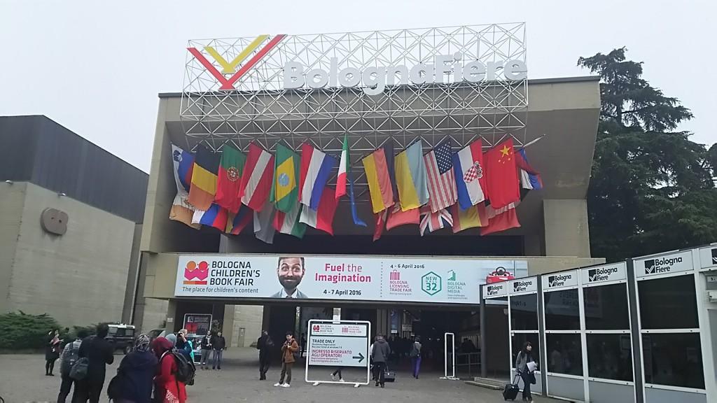 2016年4月4~7日 Bologna Children's Book Fair